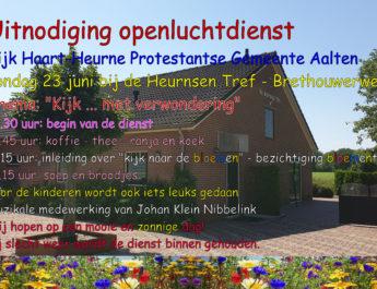 Wijkdag/openluchtdienst Haart-Heurne