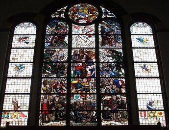 Gedenkraam in KerkVenster