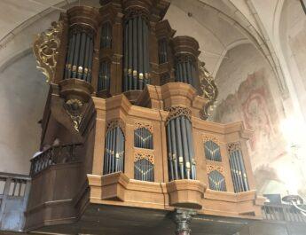 Orgelbespeling in de OHK